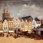 Rozenburg tableaux markt Nijmegen naar Klinkenberg