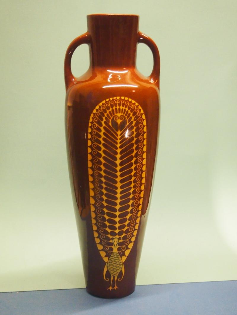 Amstelhoek amphora vaas, Chr. v/d Hoef