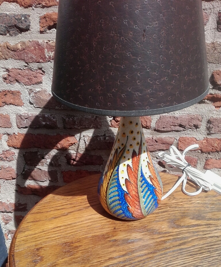 Zuid-Holland Gouda lampvoet decor Coronia