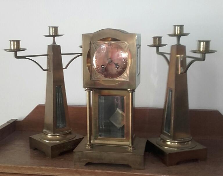 Nieuw Kunst klokkenstel mogelijk fa. Sneltjes 1910