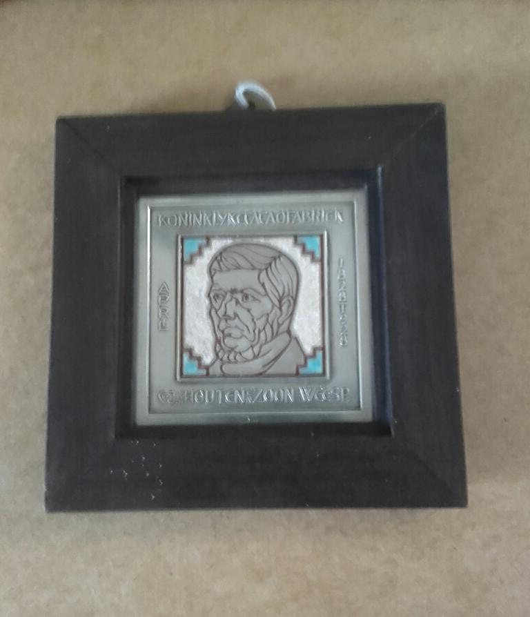 Jan Eisenloeffel zilveren plaquette 1928 (verkocht)